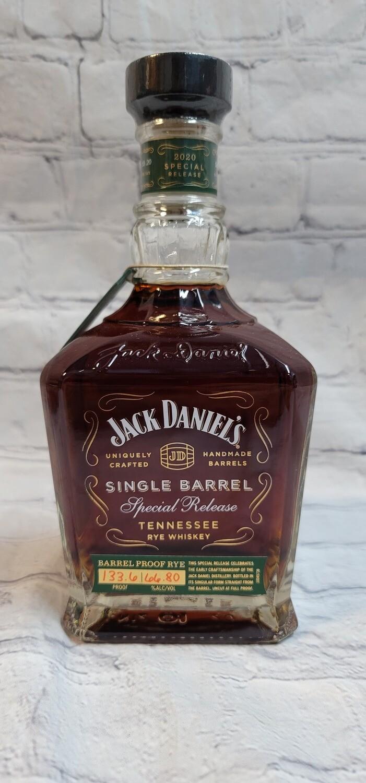 Jack Daniel's Single Barrel Special Release Rye Whisky 2020 750ml