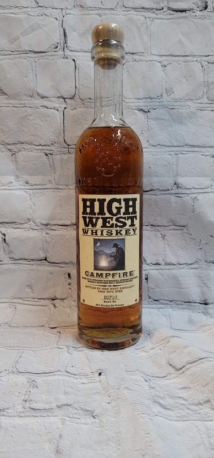 High West Whiskey Campfire 750ml