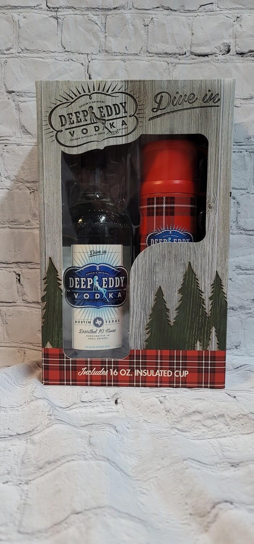 Deep Eddy Vodka 750ml with Thermos