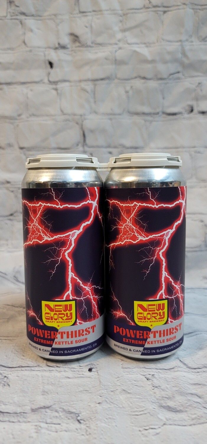 New Glory Power Thirst Kettle Sour 16oz 4pack