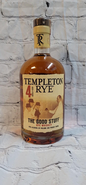 Templeton Rye 4year 750ml