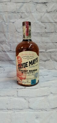 Clyde May Straight Bourbon Whiskey 750ml