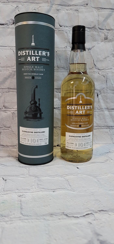 Distiller's Art Glengoyne 2008 10 year Single Malt Scotch Whiskey 750ml