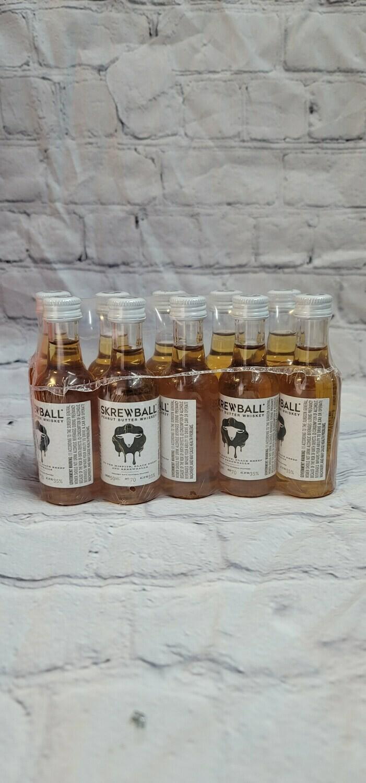 Screwball Whiskey 50ml 10pack