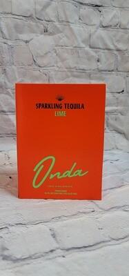 Onda Sparkling Tequila Lime 12oz 4pack