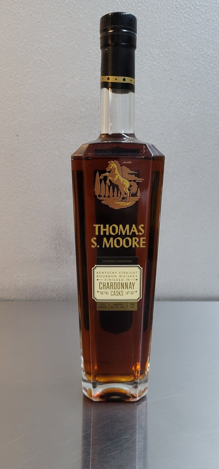 Thomas Moore Kentucky Bourbon Finished in Chardonnay Casks 750ml