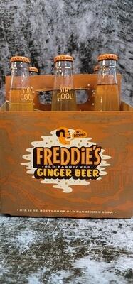 Freddie's Ginger Beer 12oz 6pack