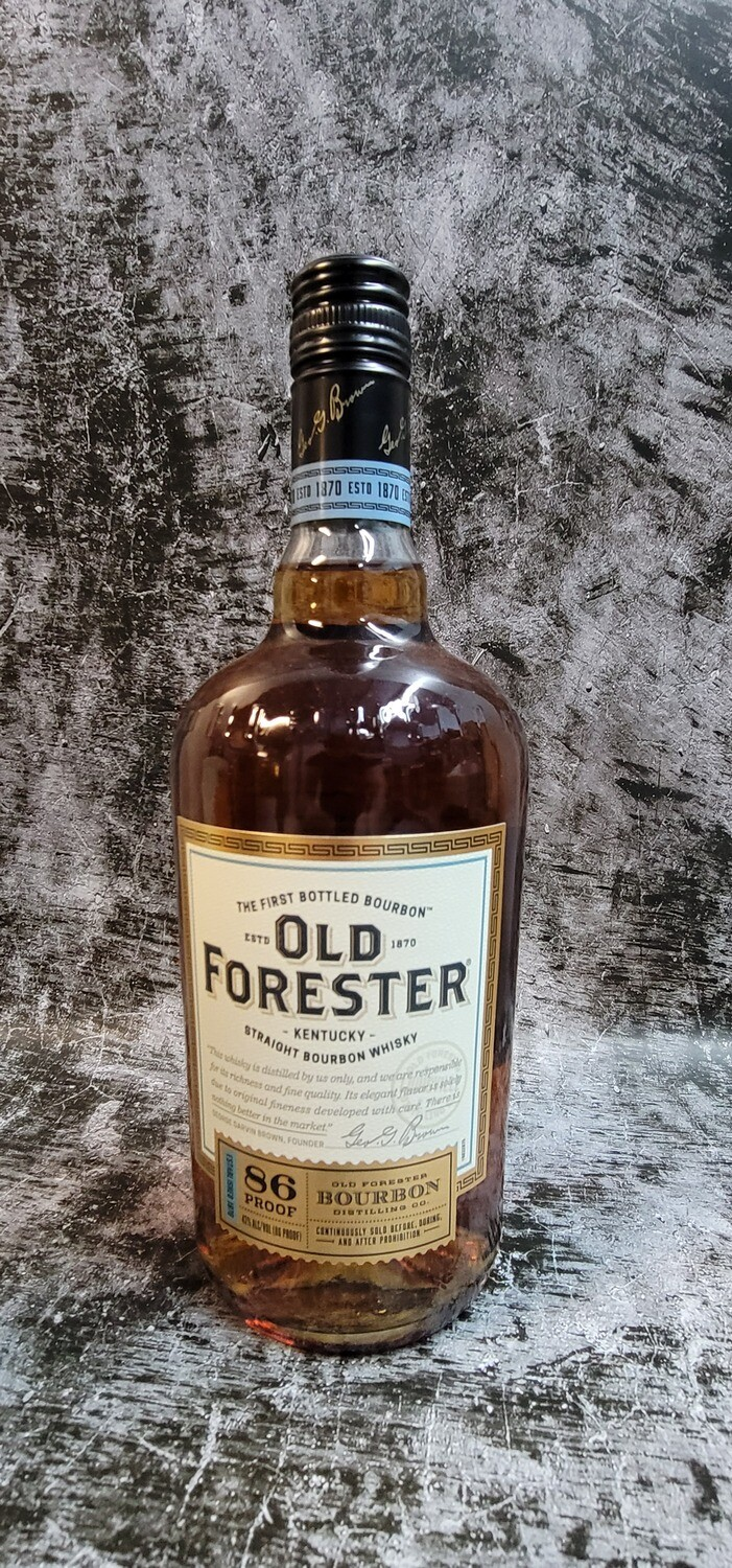 Old Forester 86proof Bourbon 750ml