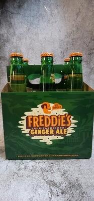Freddie's Ginger Ale 12oz 6pack