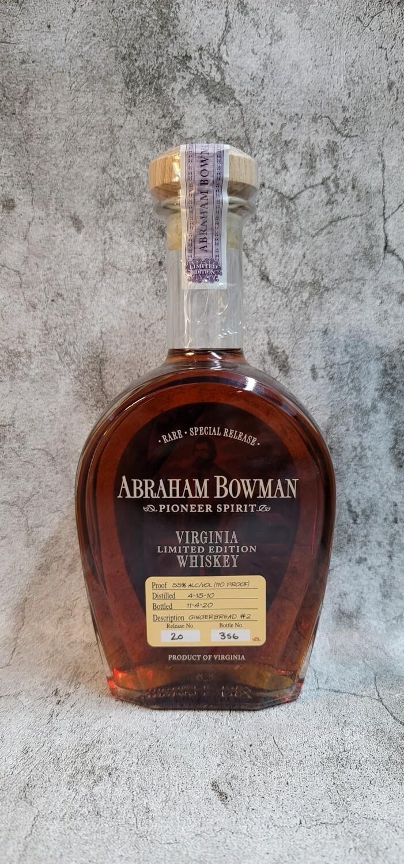 Abraham Bowman Virgina Limited Edition Whiskey Gingerbread 750ml