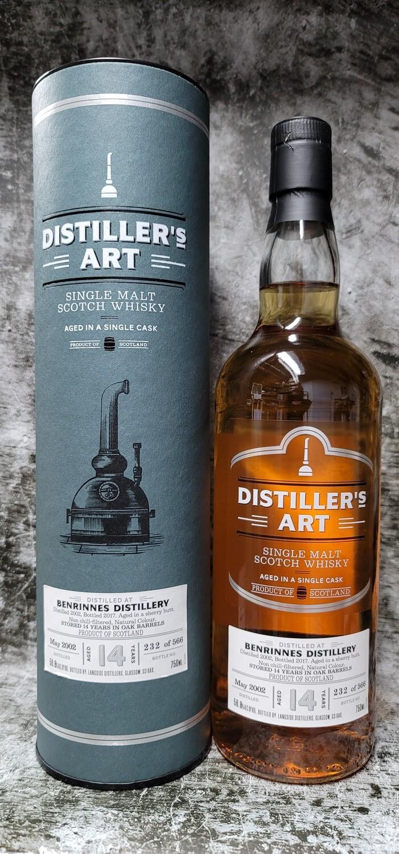 Distiller's Art Benrinnes 14 year Single Malt Scotch 750ml