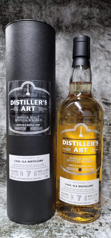 Distiller's Art Caol Ila 7 year Single Malt Scotch 750ml