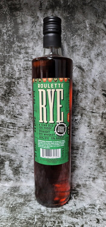 Roulette 4 year Rye Whiskey 750ml