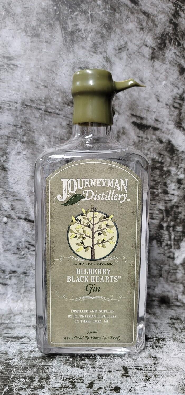 Journeyman Distillery Bilberry Black Hearts Gin 750ml
