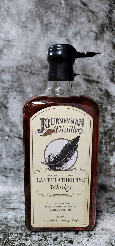Journeyman Distillery Last Feather Rye Whiskey 750ml