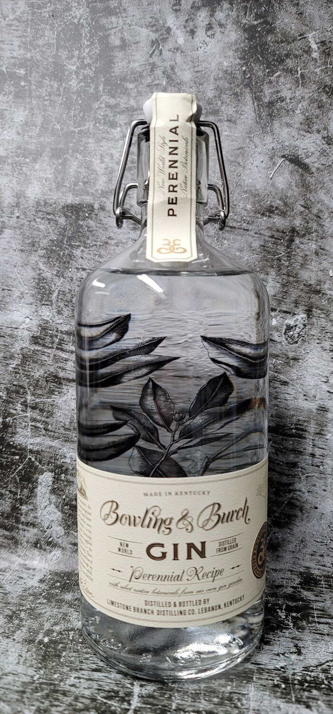 Bowling and Burch Gin 750ml