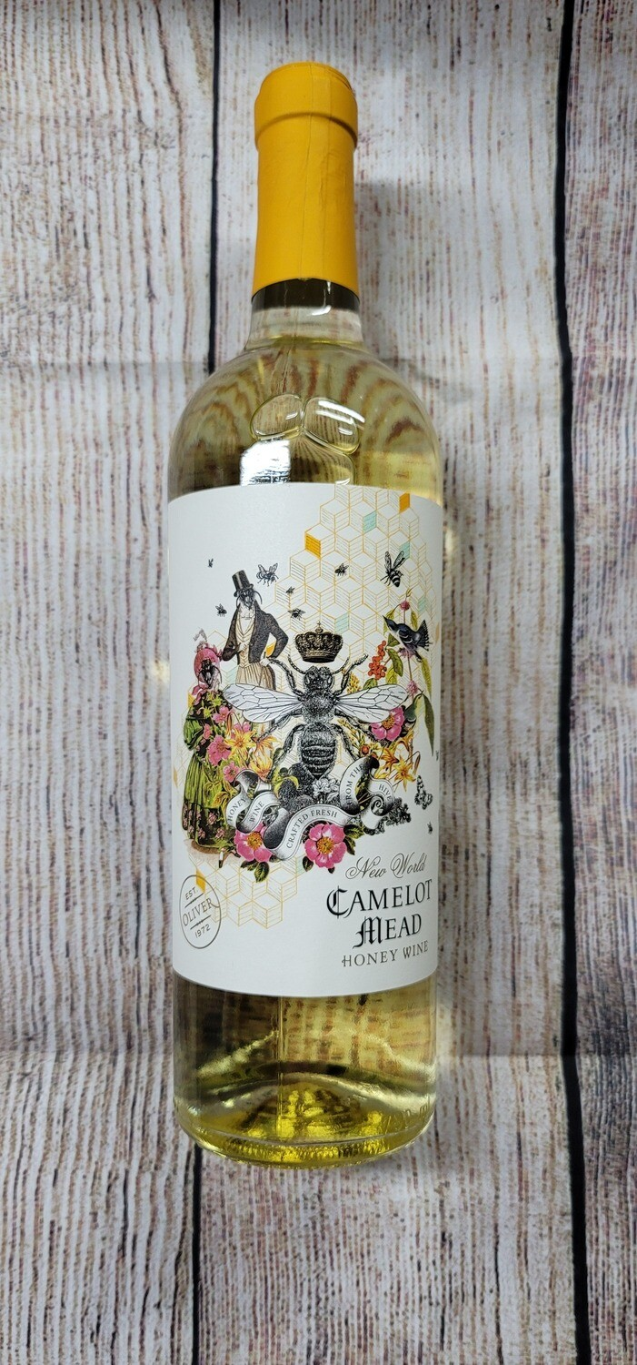 Oliver Camelot Mead Honey Wine 750ml