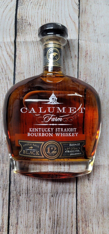 Calumet Farm 12year Kentucky Bourbon 750ml
