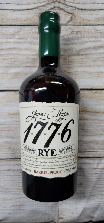 James Pepper 1776 Straight Rye Barrel Proof 750ml