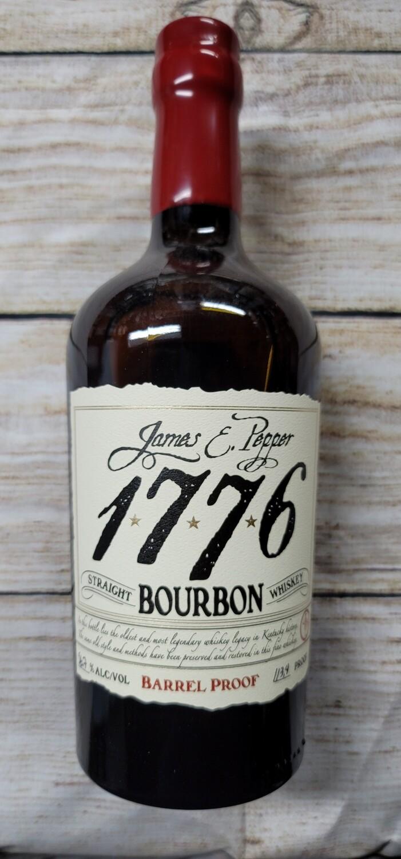 James Pepper 1776 Straight Bourbon Barrel Proof 750ml