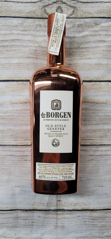 De Borgen Old Style Genever w/ 17 year old Malt Spirit 750ml