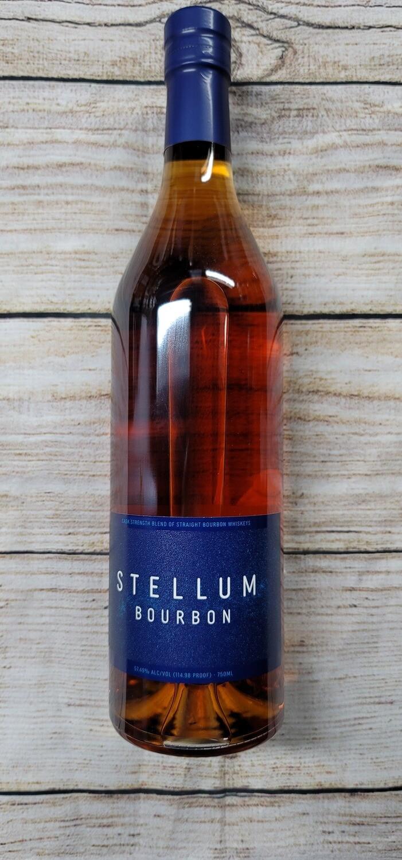 Stellum Bourbon 114 proof Whiskey 750ml