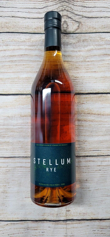 Stellum Rye 116 proof Whiskey 750ml
