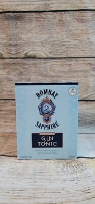 Bombay Sapphire Gin 355ml 4pack