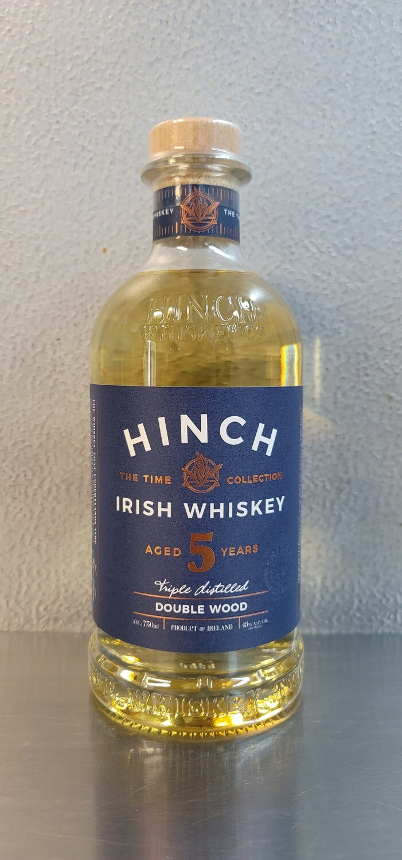Hinch Irish Whiskey 5 year Double Wood 750ml