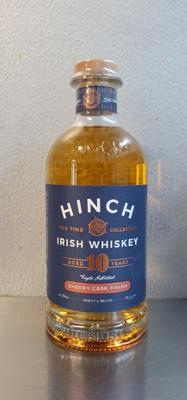 Hinch Irish Whiskey 10 year Sherry Cask Finish 750ml
