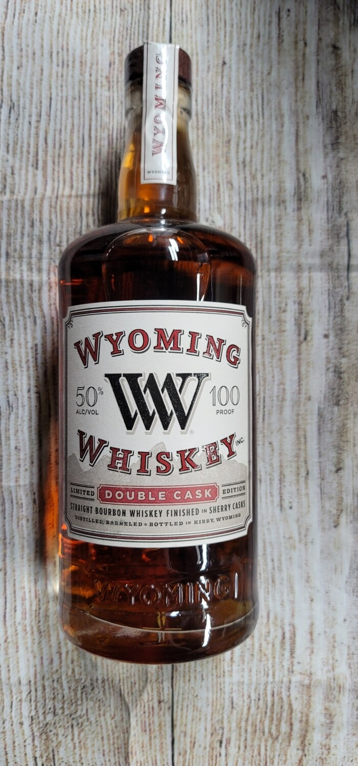 Wyoming Whiskey Double Cask 750ml