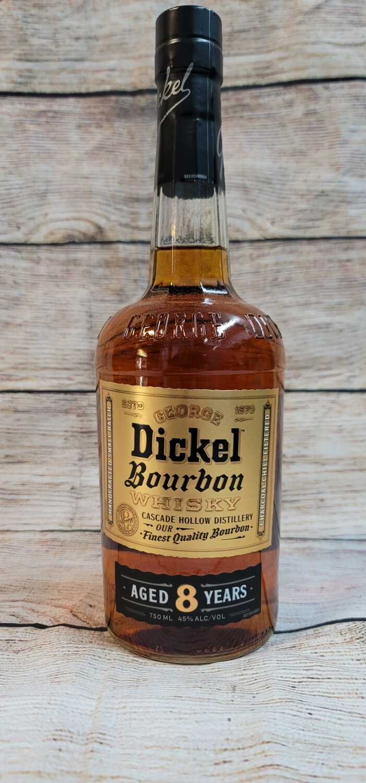 Dickel Bourbon 8 year 750ml