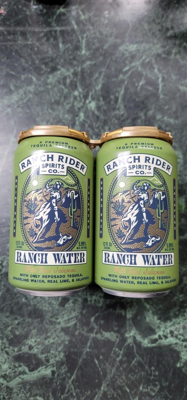 Ranch Rider Jalapeno Ranch Water 4pack