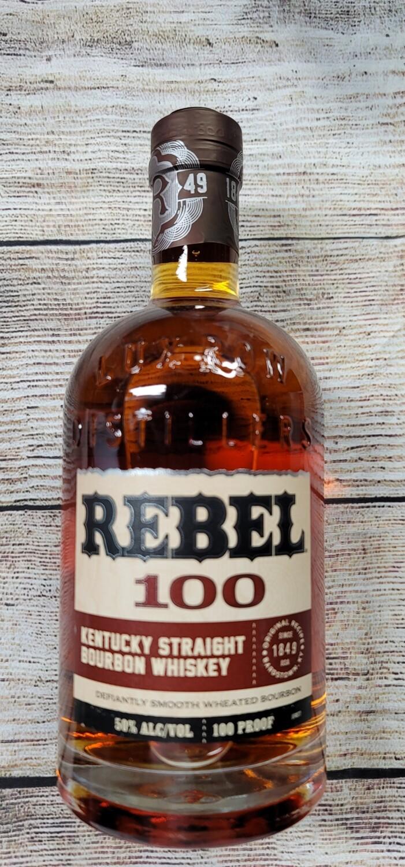 Rebel Straight Bourbon 100proof 750ml