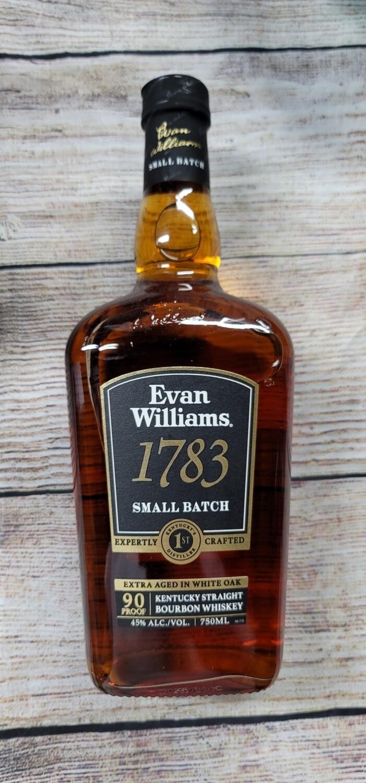 Evan Williams 1783 90proof 750ml