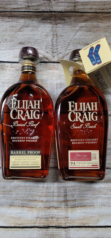 Elijah Craig Small Batch & Barrel Proof Combo