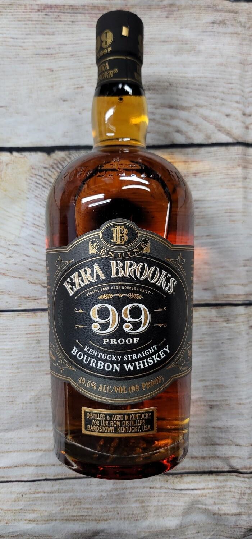 Ezra Brooks 99 proof 750ml