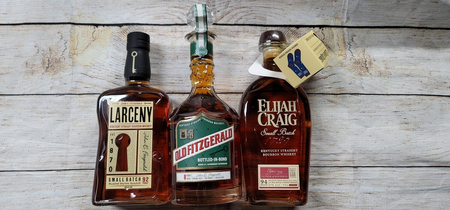 Old Fitzgerald Bottled in Bond 8 year 2021 3pack
