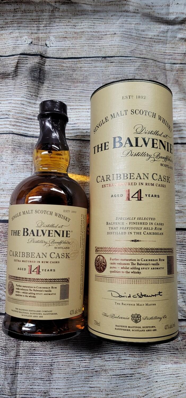Balvenie 14 Year Single Malt Caribbean Cask 750ml
