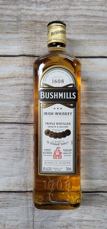 Bushmills Irish Whisky 750ml