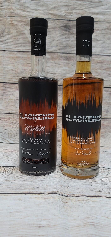 Blackened x Willet Rye Whisky Combo 750ml