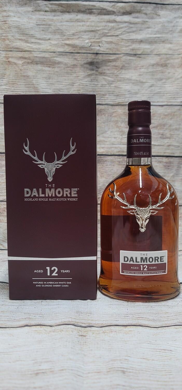 Dalmore 12year Single Malt Scotch Whisky 750ml