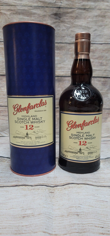 Glenfarclas 12year Highland Single Malt Scotch Whisky 750ml