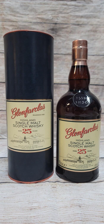 Glenfarclas 25year Highland Single Malt Scotch Whisky 750ml