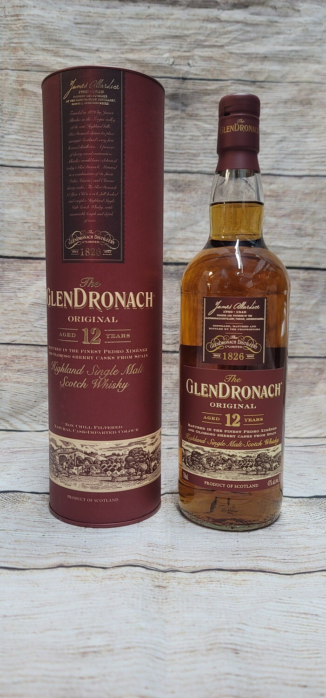 Glendronach 12year Single Malt Scotch Whisky 750ml