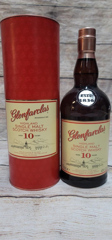 Glenfarclas 10year Highland Single Malt Scotch Whisky 750ml