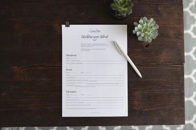 Checkliste für Fotografen - Hochzeitsablauf