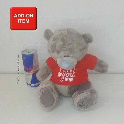 Teddy with T-Shirt Med