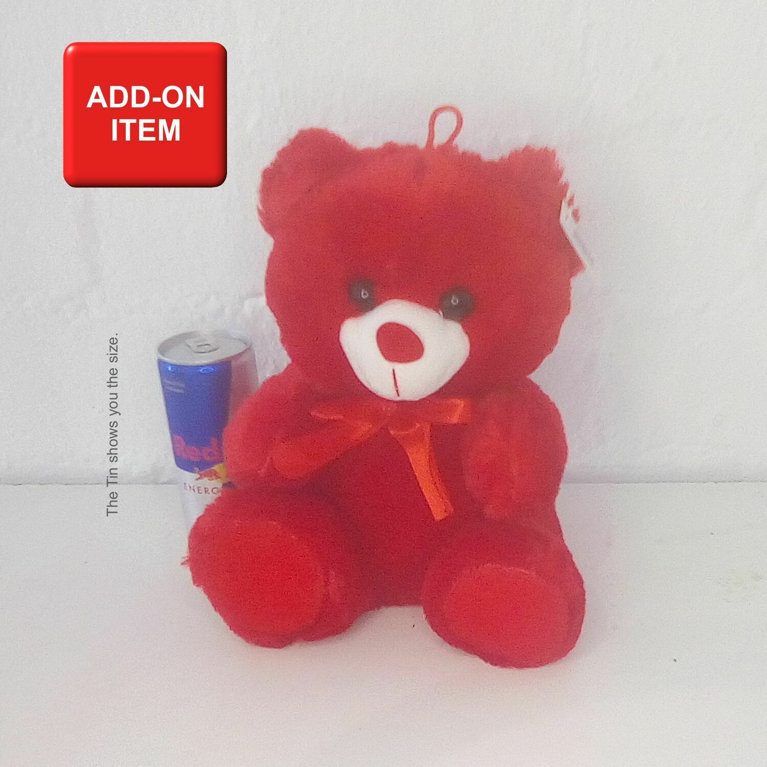 Teddy Red/White
