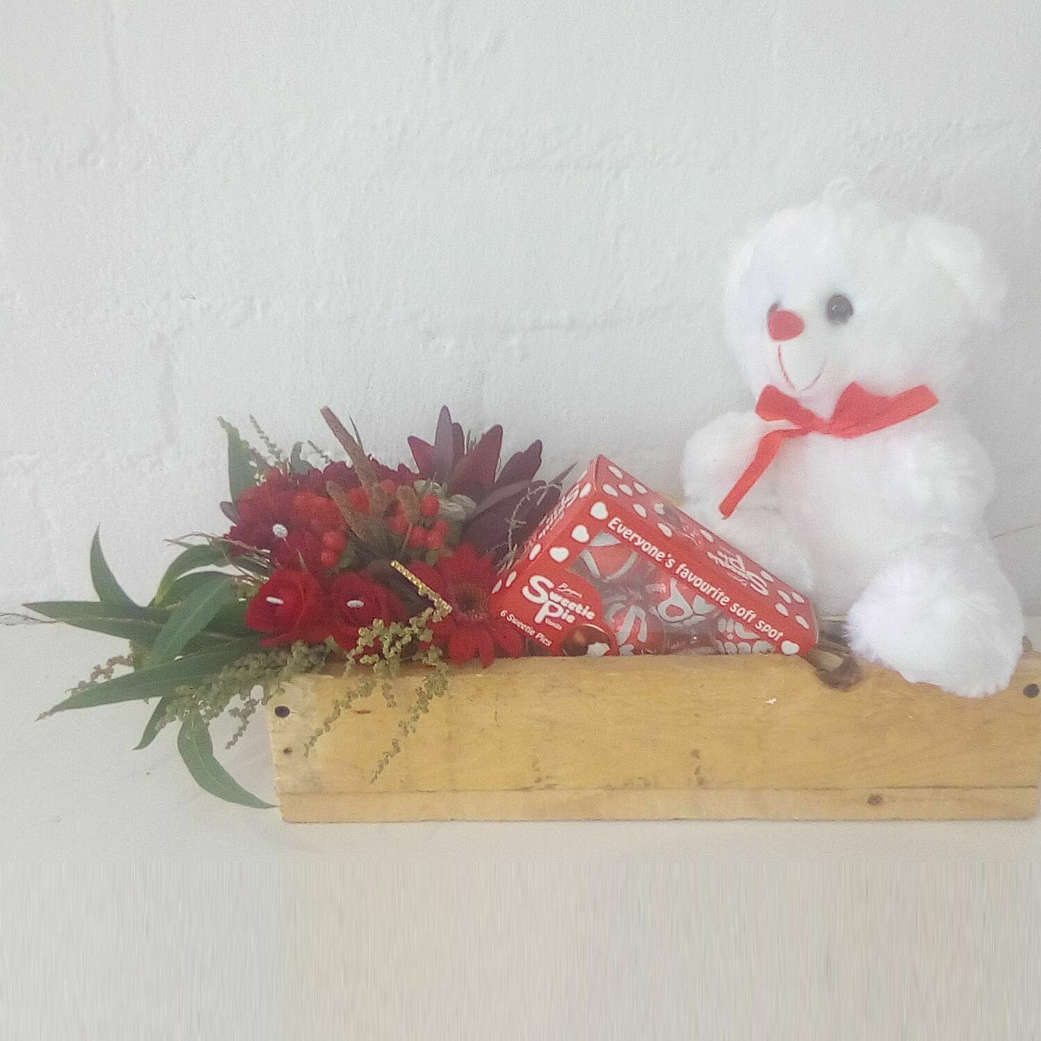 Sweety Pie Gift Box with Teddy